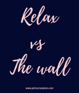 Relax vs The wall banner